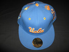 New Era 59Fifty Fitted UCLA Bruins Championship Brag Cap / Hat Choose Size NWT