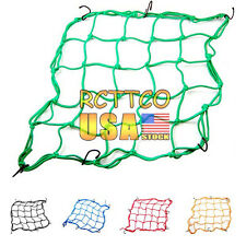 US Stock Motorcycle Parts 5 Color Helmet Web Cargo Net Mesh For Rear Replacement