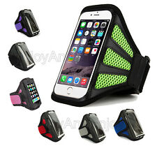 Sport Mesh Gym Running Jogging Armband Holder Case Strap Pouch For Apple Samsung