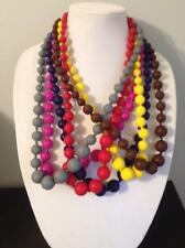 Silicone Teething Necklace - Nursing Necklace - Pearl Chewbeads Style