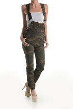 Women Plus size and Regular Size camouflage overalls dungarees joggers