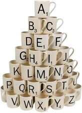 Scrabble Coffee Mug - Choose Your Letters