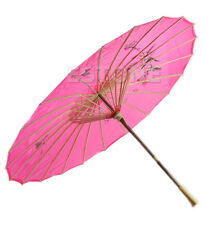 2014 Chinese Japanese Umbrella Art Deco Painted Parasol For Wedding Dance Party