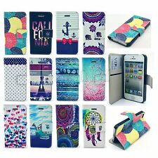 Flip PU Leather Wallet Stand Phone Case Cover for Samsung S3 S4 S5 Note 3 / 4