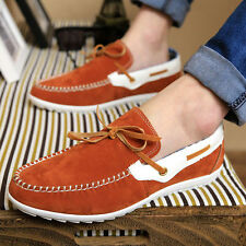 The latest trend of British style car models of men's shoes Peas