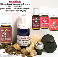 Young Living Essential Oils THIEVES Oil w/ Sacred Frankincense & Myrrh 5ml 6.6ml
