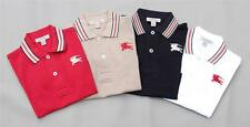 NEW Authentic BURBERRY Stripe Collar Boys Polo Shirt T-shirt Size 4 , 6  Years