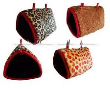 Bird Hamster Hanging Hut Happy Hut Tent Plush Parrot Toy Bed For Parrot Rabbit