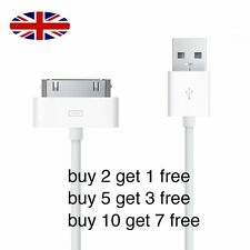 IPhone 4, 4S, iPad, iPad 2, ipod 1 meter Charger data USB cable
