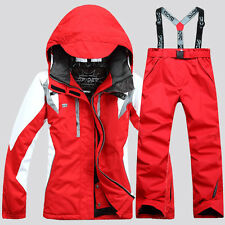 NEW womens winter ski suit Jacket + Pants Waterproof Coat snowboard Clothing