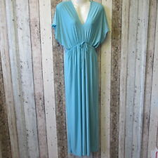 Ladies Maxi Dress Aqua (1926403/38 13)