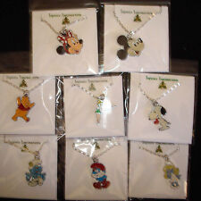 Cartoon Character Necklaces Mickey Minnie Mouse Snoopy Pooh and more You Chose
