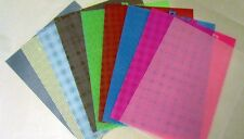 5 Sheets of 7 Mesh Plastic Canvas - Choice of Colors