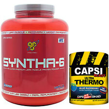 Syntha-6 Capsi-Blast Stack, Con-Cret,  Ultra Thermo, fat burner and protein