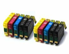 2 Full Sets + 2 FREE Black Compatible 18XL Ink Cartridges to replace T1816