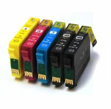 Full Set + Extra Black Compatible Ink Cartridges to replace 18XL Series T1816