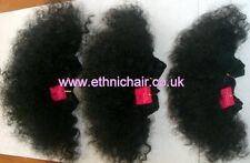 Super Soft 100% Human Hair Afro Weave. Premium Afro Hair Extension. 1,1B,2,4,30