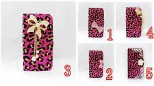 LUXURY DIAMOND RHINESTONE BLING CRYSTAL COVER WALLET CASE FOR MOBILE PHONES 6