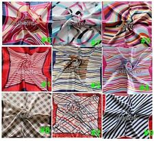 "Colorful Striped Handkerchief Bandana Square Scarf 20"" brand new"