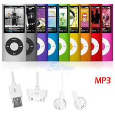 "8GB 1.8"" Slim LCD MP3 MP4 Media Music FM Radio Video Player 4th Micro SD/TF Card"