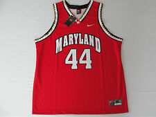 New Rare Ncaa Nike Maryland Terrapins Terps Red Basketball #44 Mens Jersey L XL