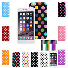 Polka Dot Pattern TPU Rubber Soft Case Cover For iPhone 6 Plus 5.5 inch       FA