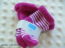 Girls 0-6 & 6-12 months Socks -Childrens Place -Two Pair Socks -Stripes Solids