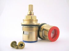 Replacement BATH ceramic disc cartridges taps valves glands quarter turn  3/4""
