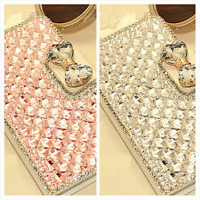 Luxury Bling Handmade Crystal Diamond Rhinestone Case Cover for iphone Samsung