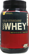 ON Gold Standard 100% whey protein powder! 2 lb size! Choose your flavor!