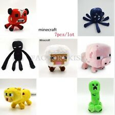 Minecraft Overworld Creeper Enderman Animal Plush Toy Jazwares Game Doll #GUS