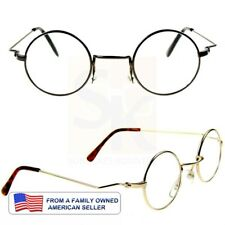 "ROUND Retro Reading Glasses Mens Women 100,125,150,175,200,225,250,300 ""Carnaby"""