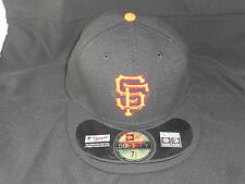 San Francisco Giants NEW ERA 59FIFTY MLB FITTED HAT/CAP On the Field BLACK