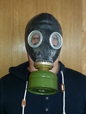 Gas Mask GP-5 (mask and filter), BLACK, Soviet Russian, NEW, Vintage,Collectible