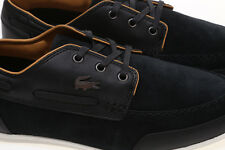Lacoste Men's Misano Boat Shoes In Black