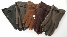 Brooks Brothers Wowens Leather Gloves Cashmere Lined  7 1/2 - 8  NWT & NWOT $168