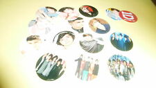 Pre Cut One Inch Bottle Cap Images! New One Direction 1D with Free Shipping