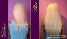 "SALE 18"" 20"" 24"" CHEEKY CHICA HAIR Thickest Clip In Remy Human Hair Extensions"
