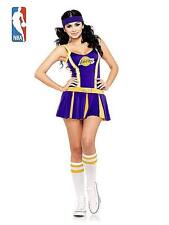 Sexy Los Angeles Laker Cheerleader Costume for Women