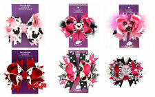 Boutique OTT Hairbows Minnie Mouse Pink & Red Party Pageant NWT * U Pick Style