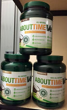 SDC Nutrition ABOUT TIME VE vegan PICK FLAVOR Protein Formula 2lbs 32 servs