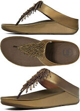Fitflop Cha Cha Bronze Flip Flop Sandal Women sizes 5,6,7,8,9,10,11 NEW!!!