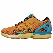 3c660ced97799 Adidas Originals ZX Flux Gold Honeycomb Womens Fashion Running Casual Shoes