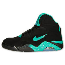 Nike Men's New Air Force 180 Mid Black Atomic Teal Violet 537330 040
