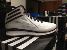 Adidas Crazy Fast 2 Limited Edition Sneakers New White Maroon D74193 Crazy light