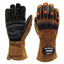 M~XL TX Kevlar Multi-faceted protection gloves Welding fire heat cut resistance