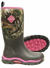 The Original Muck Boot Company - Pink Woody Max Womans Boot
