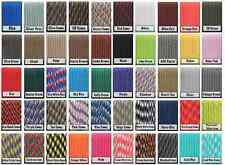 Paracord 550 100' 100 Foot CHOOSE FROM 95 COLOURS! GENUINE 7 STRAND PARACORD!