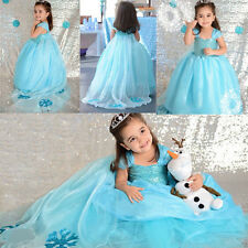 Hot Girl kids Pageant Dress Prom Party Princess Ball Gown Formal Dresses Gifts