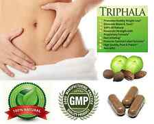 100% Natural Pure Triphala Capsules Body & Liver Detox Diet Colon Cleanse Herbal